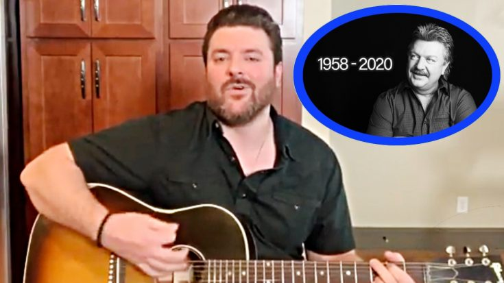 """Chris Young Performs Joe Diffie Tribute """"Pickup Man"""" At ACM: """"Our Country"""" Pre-Show"""