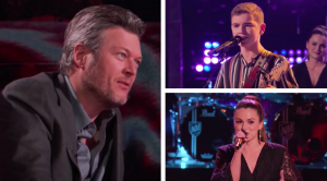 "Artists Face Off In ""Voice"" Knockout With Linda Ronstadt & Waylon Jennings Covers"