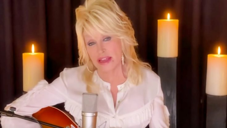 "Dolly Parton Sings ""Sweet Music Man"" To Honor Kenny Rogers On ""CMT Giants"" 
