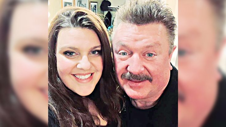 """Joe Diffie's Daughter Sings His Song """"Home"""" To Honor Her Dad After His Passing 