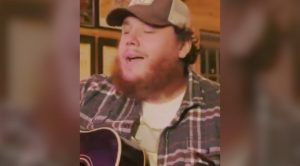 """Luke Combs Shares Cover Of One Of His """"Favorite"""" Garth Brooks Songs, """"The Dance"""""""