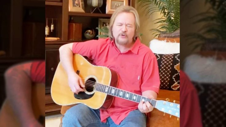 "Travis Tritt Remembers John Prine Through ""Angel From Montgomery"" Cover 