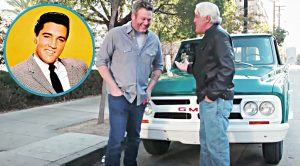 Blake Shelton Drives Elvis Presley's Truck From His Circle G Ranch
