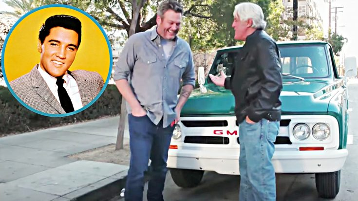 Blake Shelton Drives Elvis Presley's Truck From His Circle G Ranch | Classic Country Music Videos