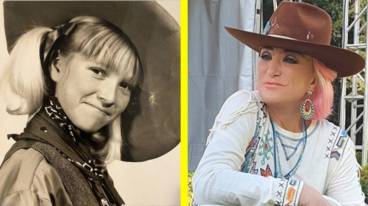 "Tanya Tucker Posts ""Throwback"" Photo Of Herself At 10 Years Old 