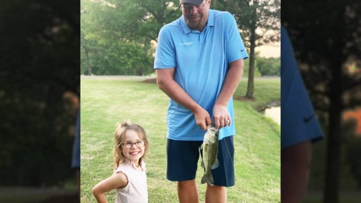 Toby Keith Teaches Granddaughter How To Fish | Classic Country Music Videos