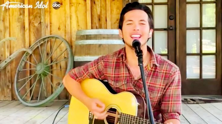 """Laine Hardy Returns To """"Idol"""" & Sings """"Life Is A Highway"""" 