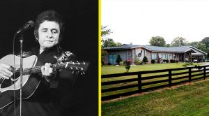 Johnny Cash's Former Home In Tennessee Up For Sale