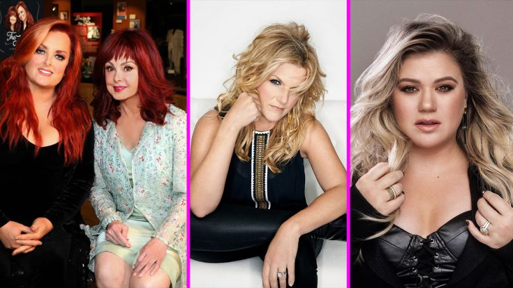 The Judds, Trisha Yearwood, & Kelly Clarkson Will Receive Stars On Hollywood Walk Of Fame | Classic Country Music Videos