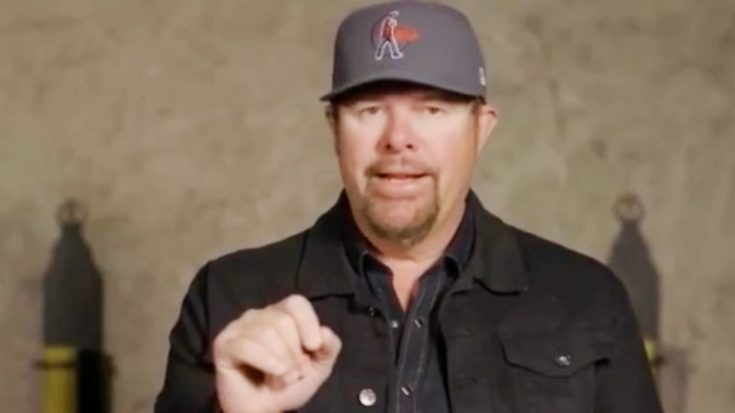 Toby Keith Warns Fans About People Impersonating Him Online
