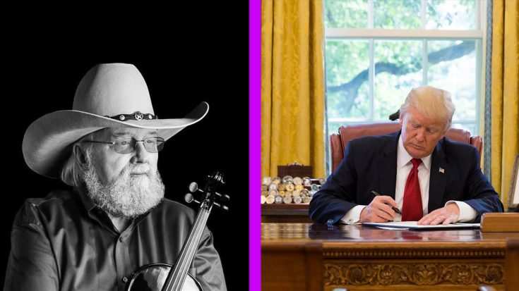Charlie Daniels' Family Receives Condolence Letter From President Trump | Classic Country Music Videos