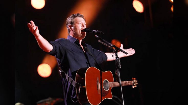 Blake Shelton To Hold Shows At 300 Drive-Ins With Gwen Stefani & Trace Adkins
