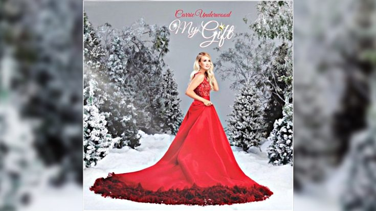 "Carrie Underwood Announces Very First Christmas Album ""My Gift"" 