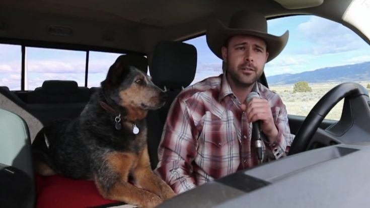 A Cowboy And His Singing Dog Cover Chris LeDoux Song On 'AGT' | Classic Country Music Videos