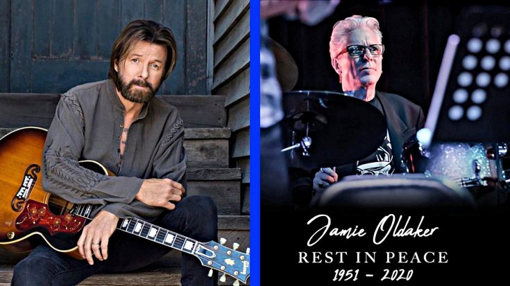 """Ronnie Dunn Mourns The Loss Of """"Key Figure In Success"""" & Friend Jamie Oldaker   Classic Country Music Videos"""