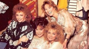 Tanya Tucker Posts Throwback Pic With Reba, Barbara Mandrell, & Loretta Lynn