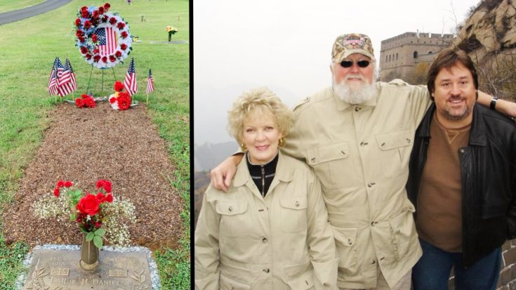 "Charlie Daniels Jr. Shares Photo Of Father's Gravesite, Says ""We Miss You, Dad"" 