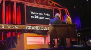 Opry & WSM Radio Say Farewell To Retiring Eddie Stubbs