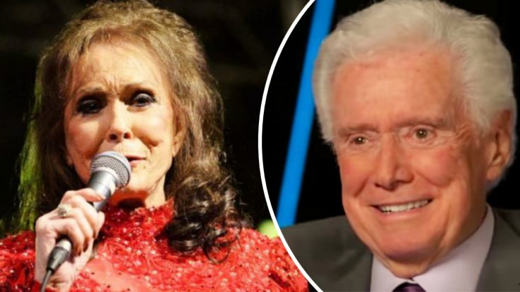 "Loretta Lynn Mourns Death Of Regis Philbin: ""We Will All Miss Him"" 