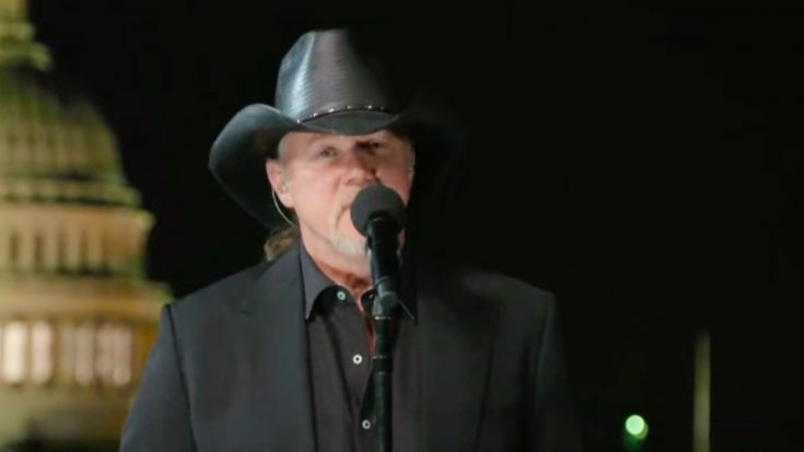 """Trace Adkins Sings """"My Country, 'Tis Of Thee"""" For PBS Special """"A Capitol Fourth"""" 