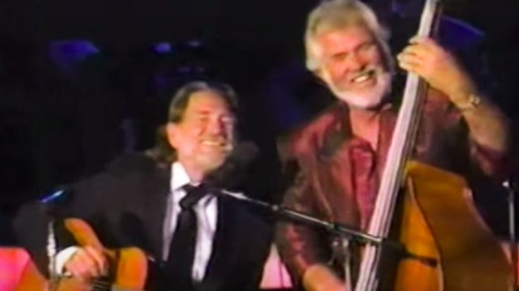 "Kenny Rogers Offered ""The Gambler"" To Willie Nelson, But He Turned It Down 