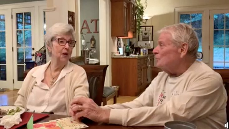 Man Overcomes Two Strokes To Serenade Wife With Kenny Rogers Song For 63rd Anniversary | Classic Country Music Videos