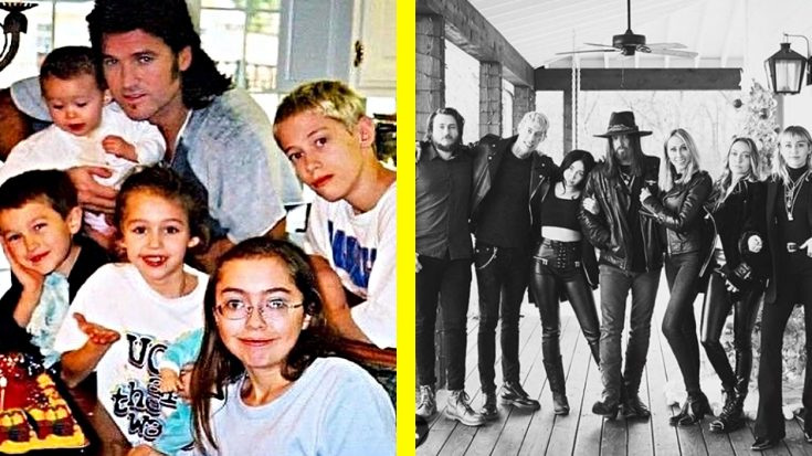 Billy Ray Cyrus Has 6 Children – These 6+ Photos Will Introduce Them | Classic Country Music Videos