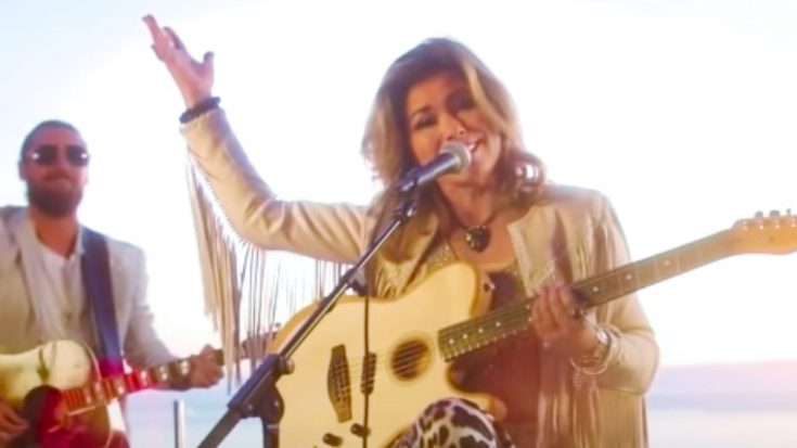 """Shania Twain Delivers New, Acoustic Performance Of 1998 Single """"That Don't Impress Me Much"""""""
