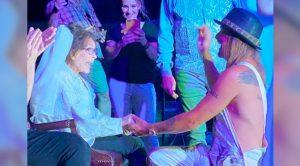 "Loretta Lynn ""Marries"" Kid Rock In Pretend Ceremony"