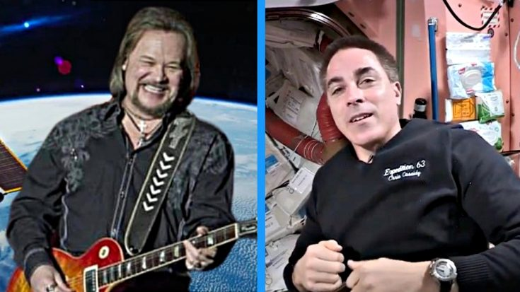 250 Miles Above Earth, Astronauts Jam Out To Travis Tritt Song