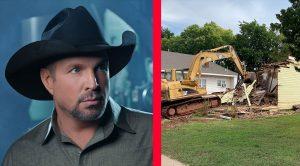 Garth Brooks' Former Home Demolished