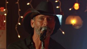 "Tim McGraw Contributes To 2020 ACM Awards By Singing ""I Called Mama"""