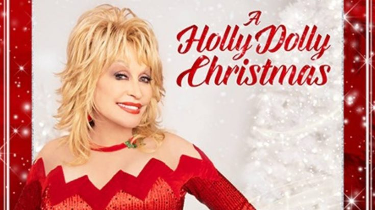 """I Saw Mommy Kissing Santa Claus"" Gets A Dolly Parton Twist 