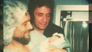 Shooter Jennings Shares Photo Of Waylon & Johnny Cash Holding Him Right After He Was Born