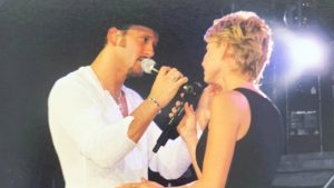 Tim McGraw Posts Throwback Photo To When He & Faith First Started Dating