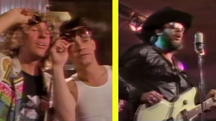 "Van Halen Parties It Up With Hank Jr. In ""Bocephus"" Music Video 