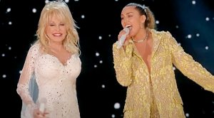 Miley Cyrus Joins Dolly Parton For Christmas Duet