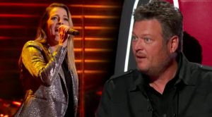 "Singer At Blake Shelton's Ole Red Bar Auditions For ""The Voice"" With Martina McBride's ""Anyway"""