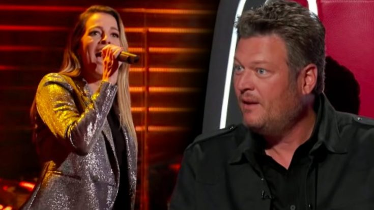 """Singer At Blake Shelton's Ole Red Bar Auditions For """"The Voice"""" With Martina McBride's """"Anyway"""""""