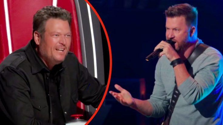 """Blake Shelton Immediately Turns For """"Voice"""" Singer's """"Red Dirt Road"""" Audition"""