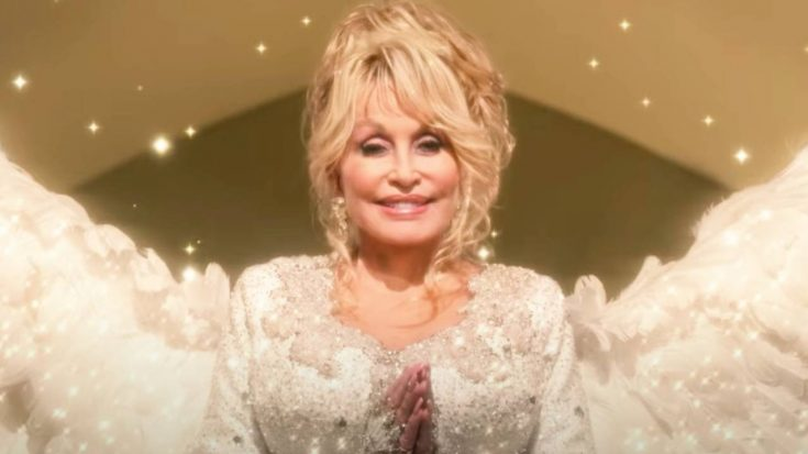 """Dolly Parton Is An Angel In Netflix Trailer For """"Christmas In The Square"""" 