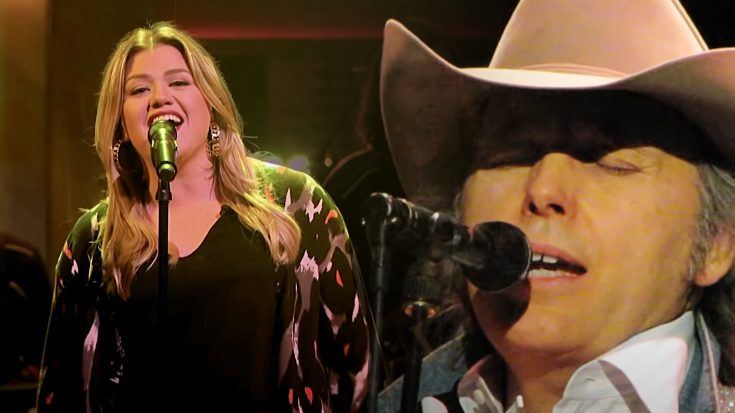 "Kelly Clarkson Puts Her Own Spin On Dwight Yoakam's ""Fast As You"""