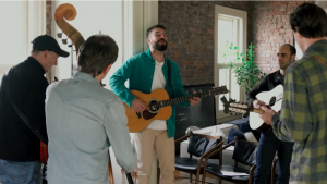 Sam Hunt Goes Bluegrass With 'Sitting On Top Of The World' Cover