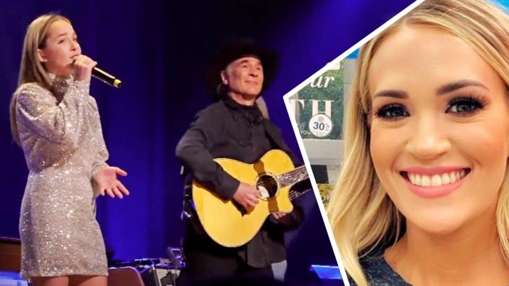 "Clint Black ""Very Proud"" Daughter Lily Is Inspired By Carrie Underwood 
