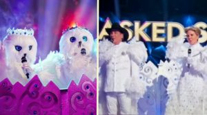 "Clint Black & Lisa Hartman Black Unveiled As Snow Owls On ""The Masked Singer"""