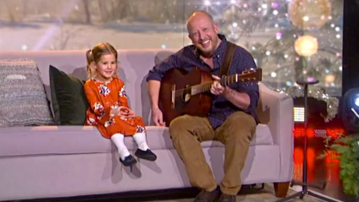 """Inspired By Dolly Parton, 5-Year-Old Belts """"Jolene"""" On National Television 
