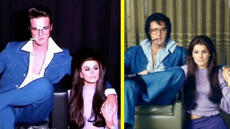'Iconic' Elvis & Priscilla Photo Recreated By Cindy Crawford's Daughter & New Boyfriend