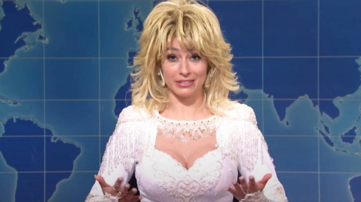 SNL Cast Member Sings Christmas Songs As Dolly Parton | Classic Country Music Videos