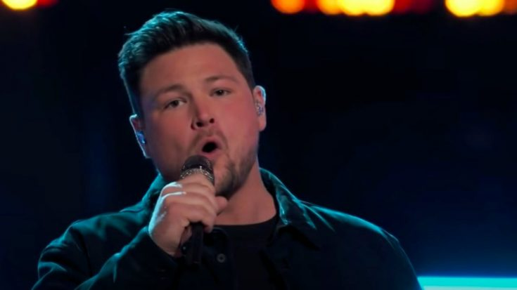 "Team Blake's Ian Flanigan Wins ""Voice"" Instant Save By Singing Travis Tritt's ""Anymore"" 