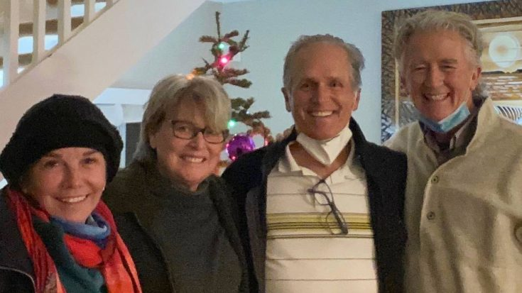 """Patrick Duffy & """"Happy Days"""" Girlfriend Share Photo From First Christmas Together 